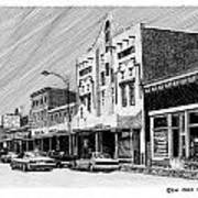 Silver City New Mexico Poster by Jack Pumphrey
