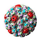 Simian Virus 40 Particle Poster by Laguna Design