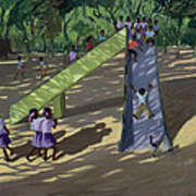 Slide Mysore Poster by Andrew Macara