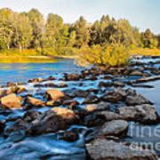 Smooth Rapids Poster by Robert Bales
