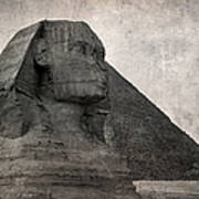 Sphinx Vintage Photo Poster by Jane Rix