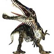 Spinosaurus Dinosaur, Artwork Poster by Animate4.comscience Photo Libary
