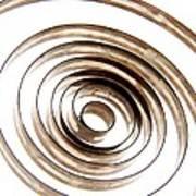 Spiral Poster by Bernard Jaubert