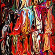 Spirit Of Mardi Gras Poster by Carol Groenen