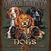 Sporting Dog Traditions Poster by JQ Licensing