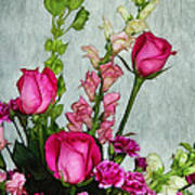 Spray Of Flowers Poster by Judi Bagwell