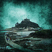 St Michaels Mount Poster by Svetlana Sewell