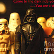 Star Wars Gang 4 Poster by Micah May
