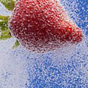 Strawberry Soda Dunk 2 Poster by John Brueske