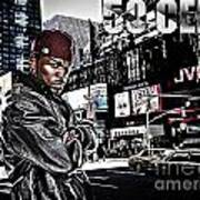 Street Phenomenon 50 Cent Poster by The DigArtisT