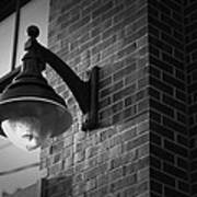 Streetlamp Poster by Eric Gendron
