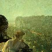 Summer Evening In Paris Poster by Childe Hassam