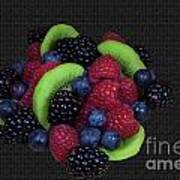 Summer Fruit Medley Poster by Michael Waters