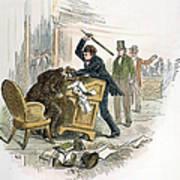 Sumner And Brooks, 1856 Poster by Granger