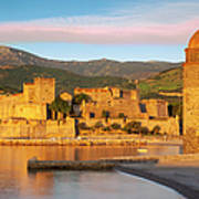 Sunrise In Collioure Poster by Brian Jannsen