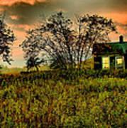 Sunrise On The Prairie Poster by Matthew Winn