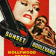 Sunset Boulevard Poster by Georgia Fowler