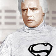 Superman, Marlon Brando, 1978 Poster by Everett