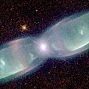 Supersonic Exhaust From Nebula Poster by STScI/NASA/Science Source