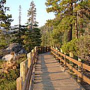 Tahoe Bridge Poster by Silvie Kendall