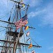Tall Ships Banners Poster by David Bearden