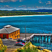 Tathra Wharf Poster by Joanne Kocwin