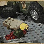 Tellermine Aftermath Poster by Josh Bernstein
