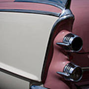 The 1955 Dodge Royal Lancer Sedan Poster by David Patterson