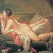 The Blonde Odalisque Poster by Francois Boucher