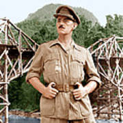 The Bridge On The River Kwai, Alec Poster by Everett