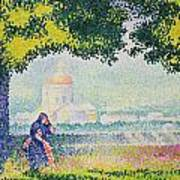 The Church Of Santa Maria Degli Angeli Poster by Henri-Edmond Cross