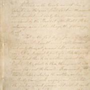 The Civil War. The Manuscript Poster by Everett