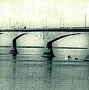 The Confederation Bridge Pei Poster by Edward Fielding