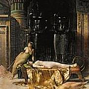 The Death Of Cleopatra  Poster by John Collier