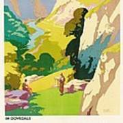 The Derbyshire Dales Poster by Frank Sherwin