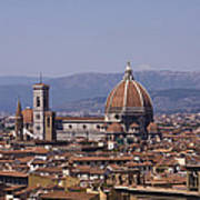 The Duomo Florence Poster by Trevor Buchanan
