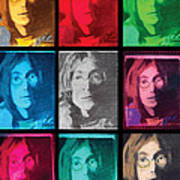 The Essence Of Light- John Lennon Poster by Jimi Bush