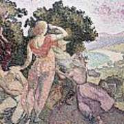 The Excursionists Poster by Henri-Edmond Cross