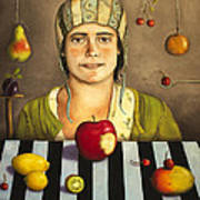 The Fruit Collector 2 Poster by Leah Saulnier The Painting Maniac