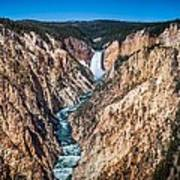 The Grand Canyon Of Yellowstone Poster by Brad Boserup
