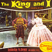 The King And I, Yul Brynner, Deborah Poster by Everett