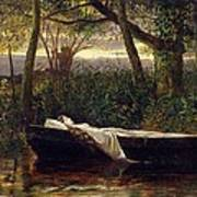 The Lady Of Shalott Poster by Walter Crane