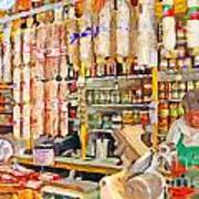 The Local Deli Poster by Wingsdomain Art and Photography
