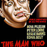 The Man Who Knew Too Much, Peter Lorre Poster by Everett