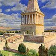 The Mausoleum At Halicarnassus Poster by English School