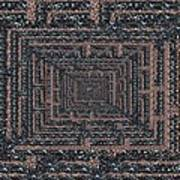 The Maze Poster by Tim Allen