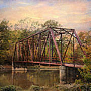 The Old Iron Bridge Poster by Jai Johnson