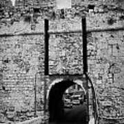The Porta Di Limisso The Old Land Limassol Gate In The Old City Walls Famagusta Cyprus Poster by Joe Fox