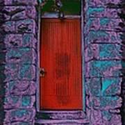 The Red Door Poster by Tim Allen