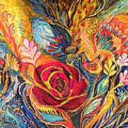 The Rose Of East Poster by Elena Kotliarker